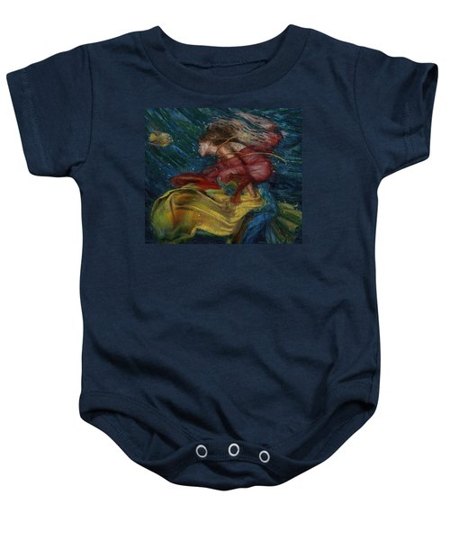 Queen Of The Angels Baby Onesie