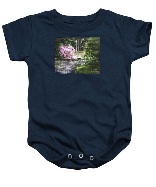Reflections Of Spring Baby Onesie