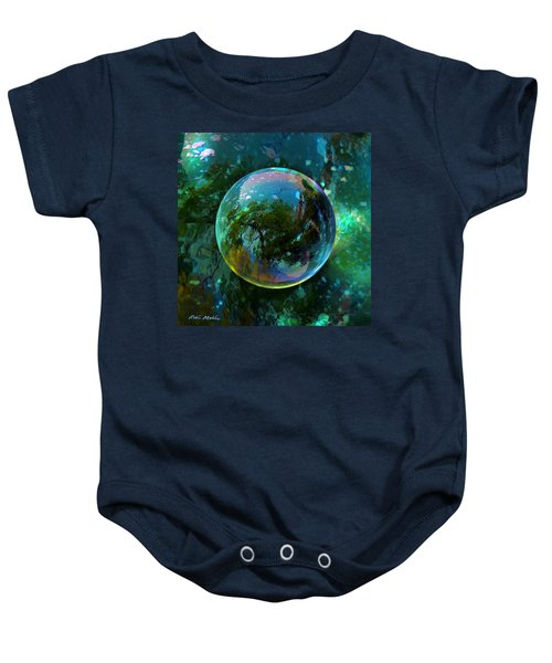 Reticulated Dream Orb Baby Onesie