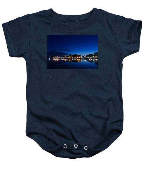 Riviera Blue Baby Onesie