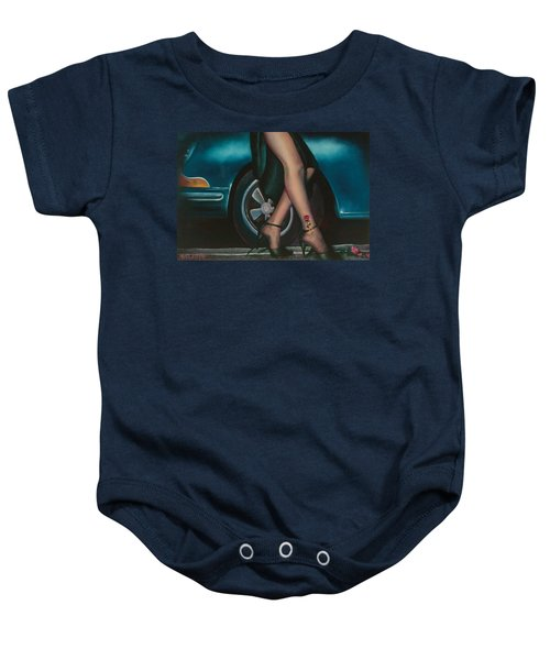 Rose Tattoo Baby Onesie