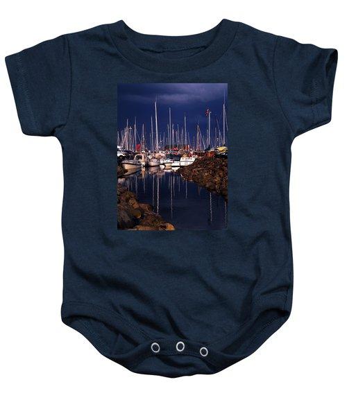 Baby Onesie featuring the photograph Samsoe Island Denmark by Colette V Hera  Guggenheim