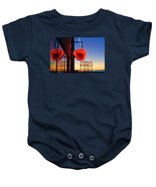 Seattle Coffee Baby Onesie