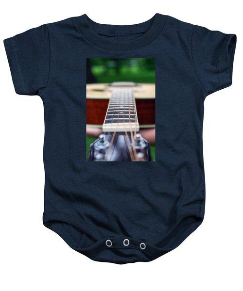 Six String Music Baby Onesie