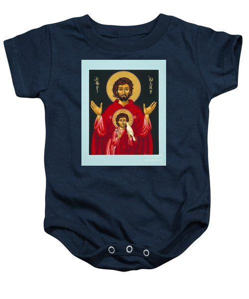 St. Joseph Shadow Of The Father 039 Baby Onesie