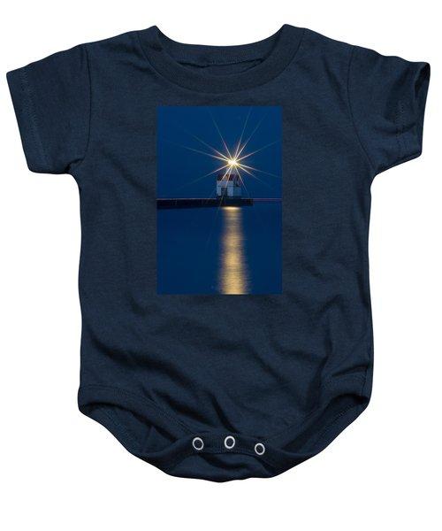 Star Bright Baby Onesie by Bill Pevlor