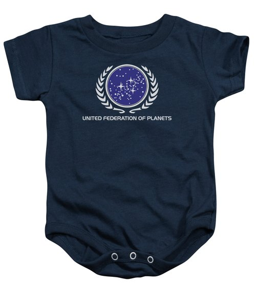Star Trek - United Federation Logo Baby Onesie