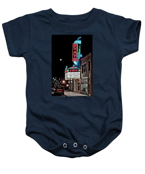 State Theater Baby Onesie