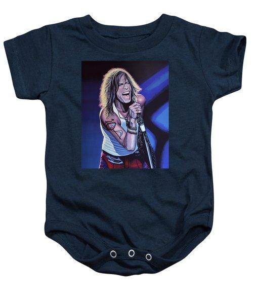 Steven Tyler 3 Baby Onesie by Paul Meijering