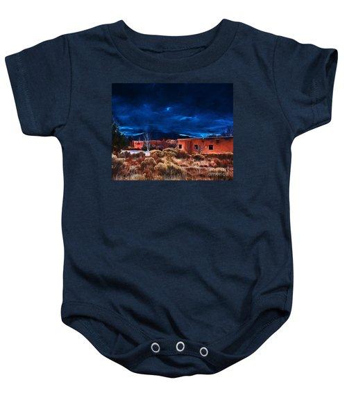 Storm Over Taos Lx - Homage Okeeffe Baby Onesie