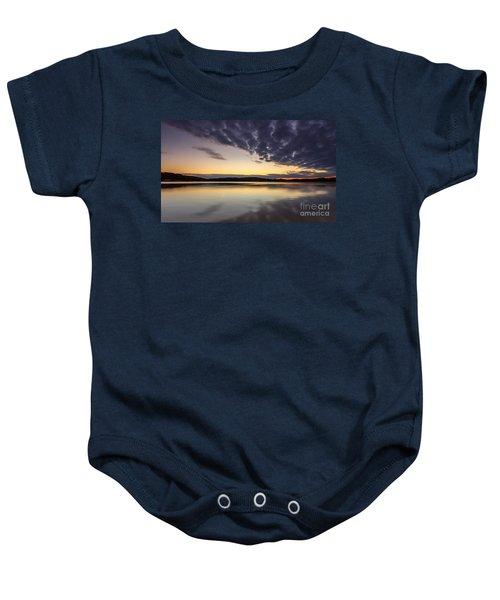Sunrise On The Lake Baby Onesie