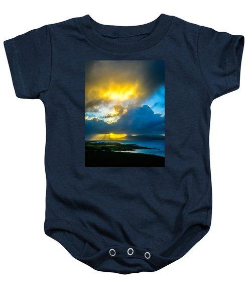 Baby Onesie featuring the photograph Sunrise Over Sheep's Head Peninsula by James Truett