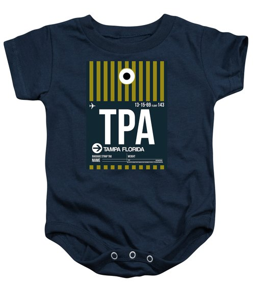 Tampa Airport Poster 1 Baby Onesie