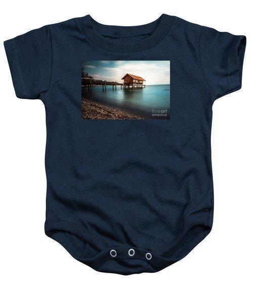 The Boats House II Baby Onesie
