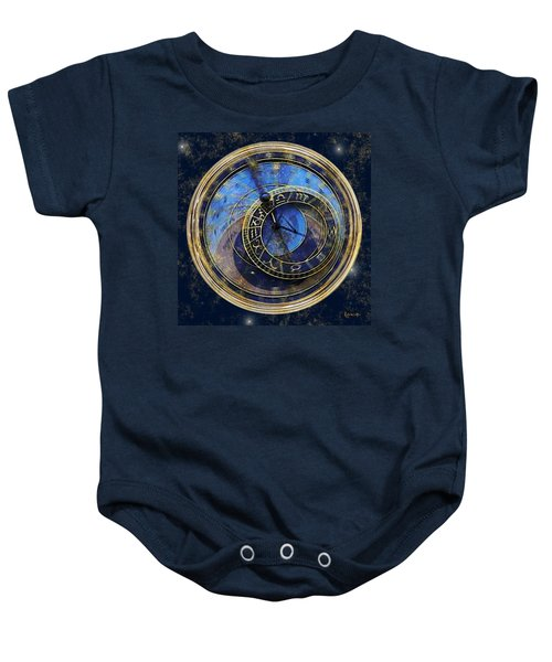 The Carousel Of Time Baby Onesie