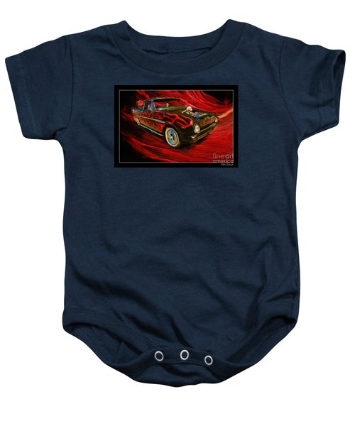 The Devil's Ride Baby Onesie