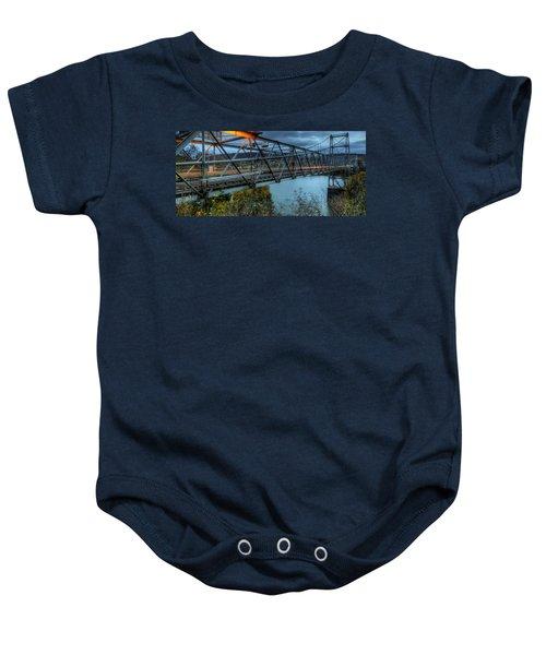 The Newell Bridge Baby Onesie