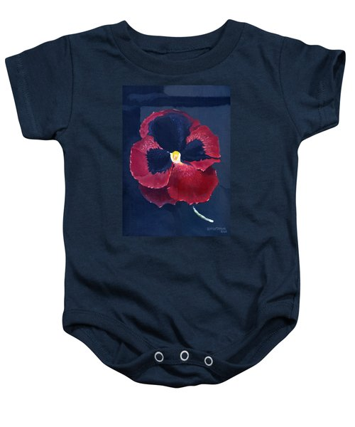 The Pansy Baby Onesie