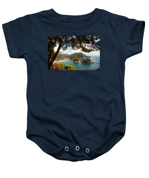 The Town Of Parga - 2 Baby Onesie