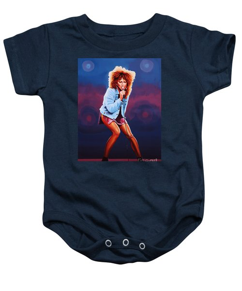 Tina Turner Baby Onesie by Paul Meijering