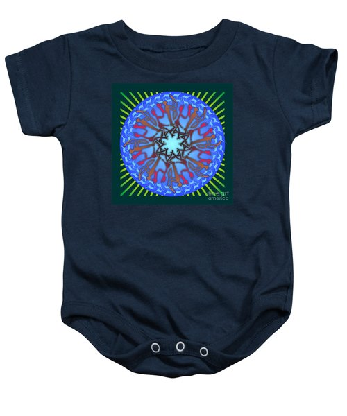 Tribal Hunt And Blessing Baby Onesie