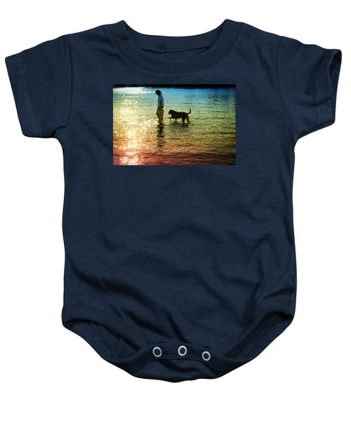 Tripping The Light Fantastic Baby Onesie