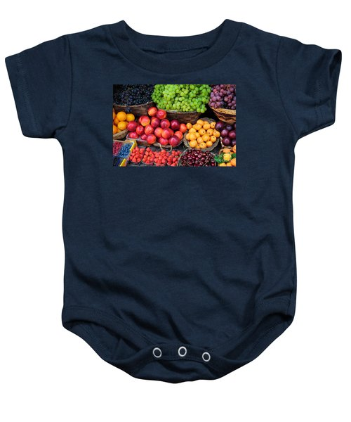Tuscan Fruit Baby Onesie