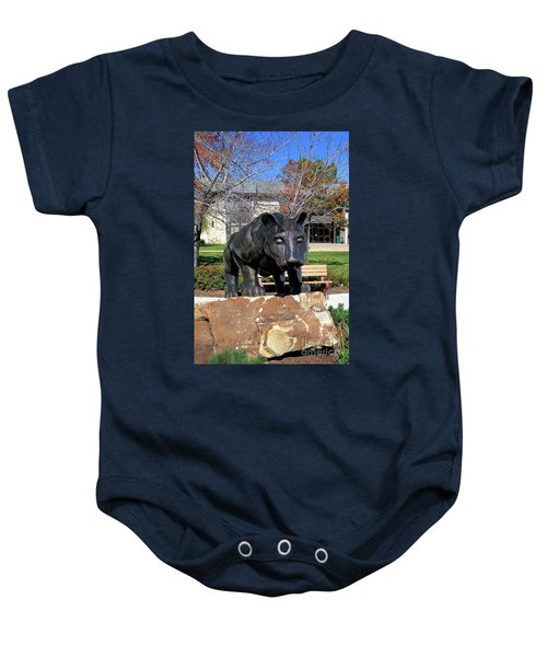Upj Panther Baby Onesie