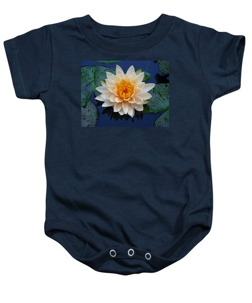 Waterlily After A Shower Baby Onesie