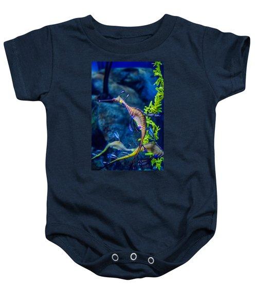 Weedy Seadragon Baby Onesie