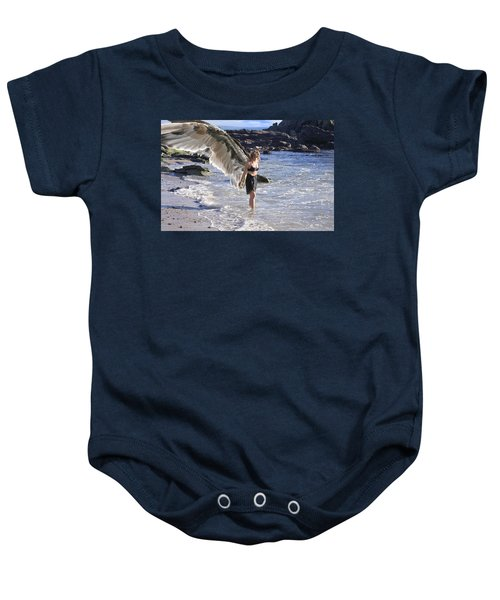 When You Were Born I Made You Smile Baby Onesie