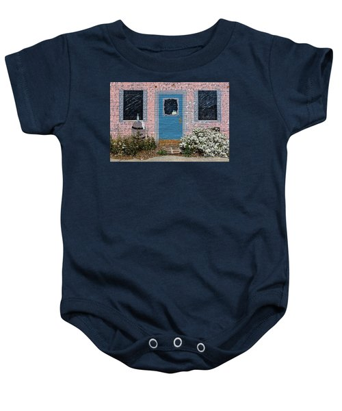 Window With No View Baby Onesie