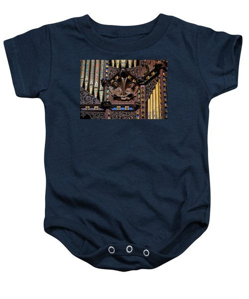 Wooden Angels Ely Cathedral Baby Onesie