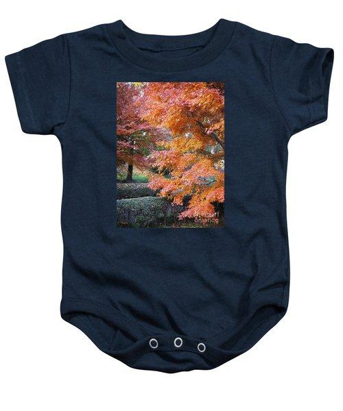 Autumn Momiji Baby Onesie