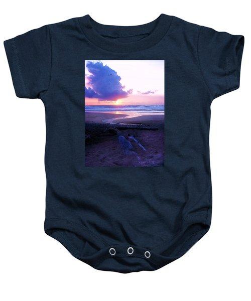 Beach Time Baby Onesie