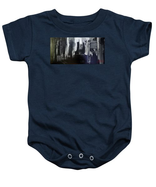 City Abstract Baby Onesie