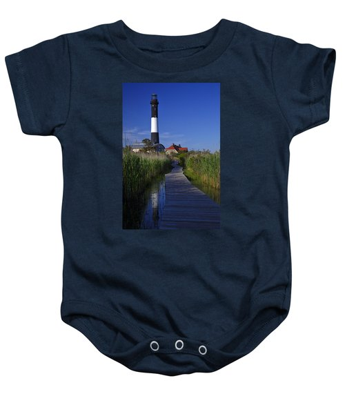 Fire Island Reflection Baby Onesie