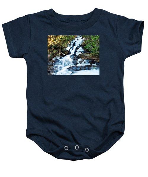Frozen Waterfall Baby Onesie