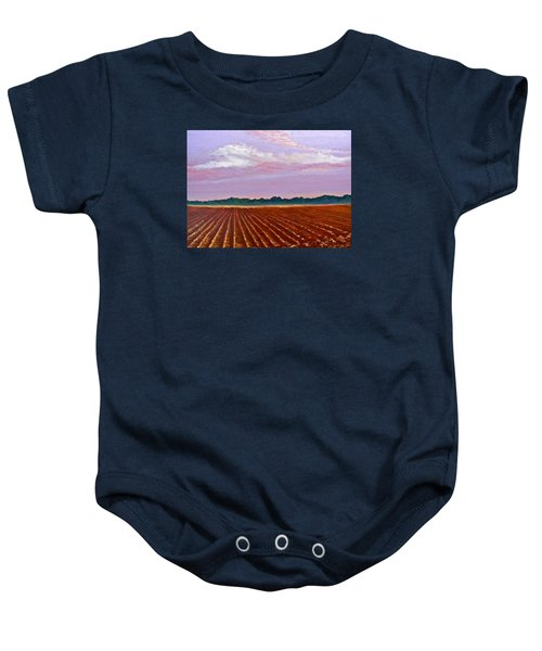 Mississippi Land And Sky Baby Onesie