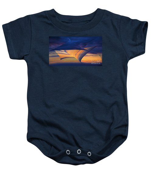 Peeling Back The Layers Baby Onesie by Clare Bambers