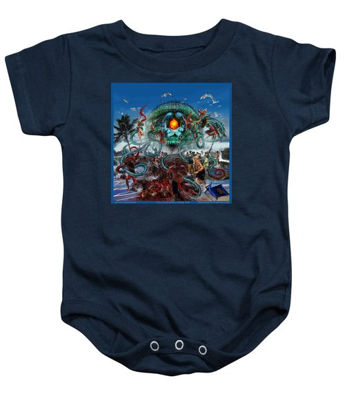 Pollution Shall Thank You Baby Onesie