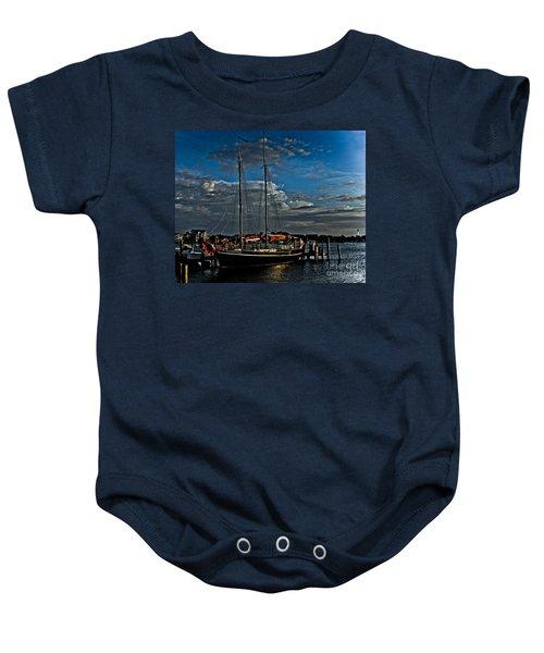Ready To Sail Baby Onesie