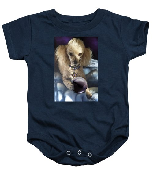 The Wizard Of Dogs Baby Onesie