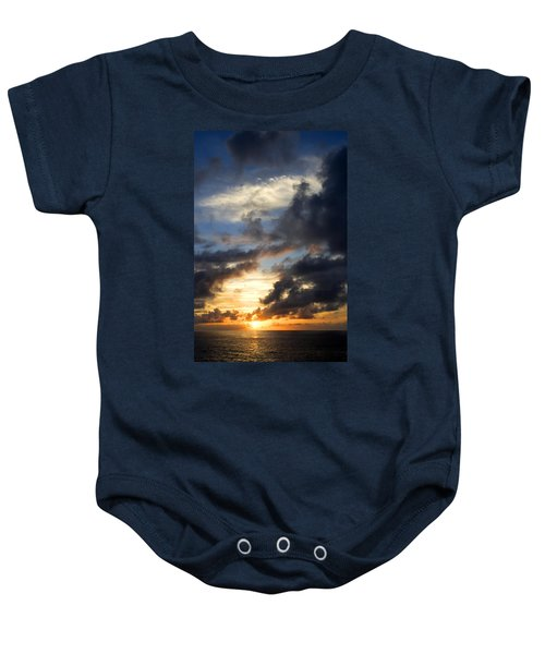 Tropical Sunset Baby Onesie