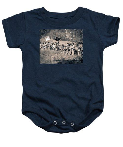 Gettysburg Confederate Infantry 9281s Baby Onesie