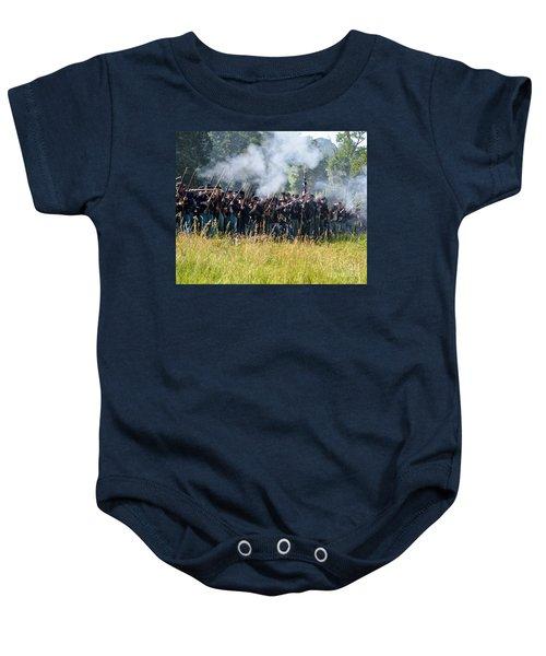 Gettysburg Union Infantry 9360c Baby Onesie