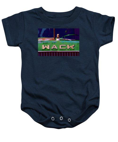 Wack Truck Baby Onesie