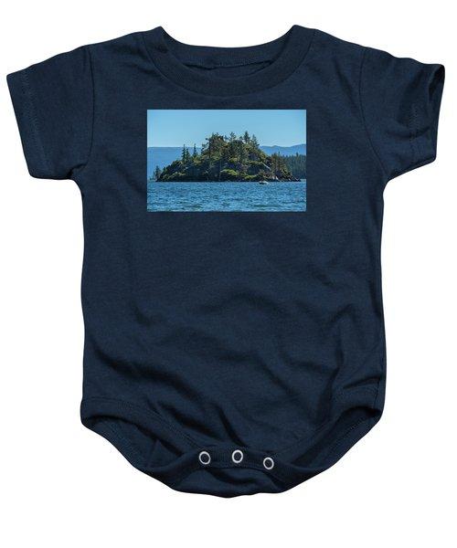 Fannette Island Baby Onesie