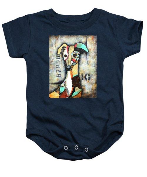 Italian Greyhound Baby Onesie