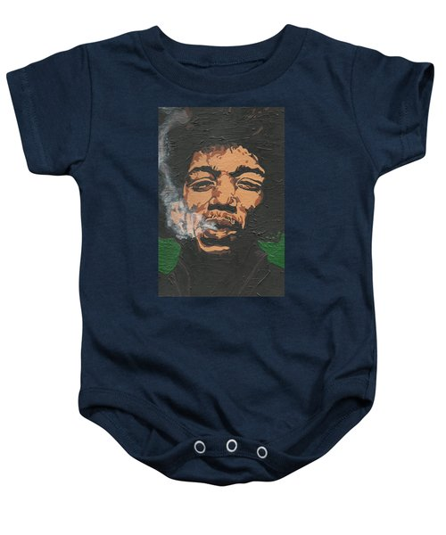 Jimi Hendrix Baby Onesie